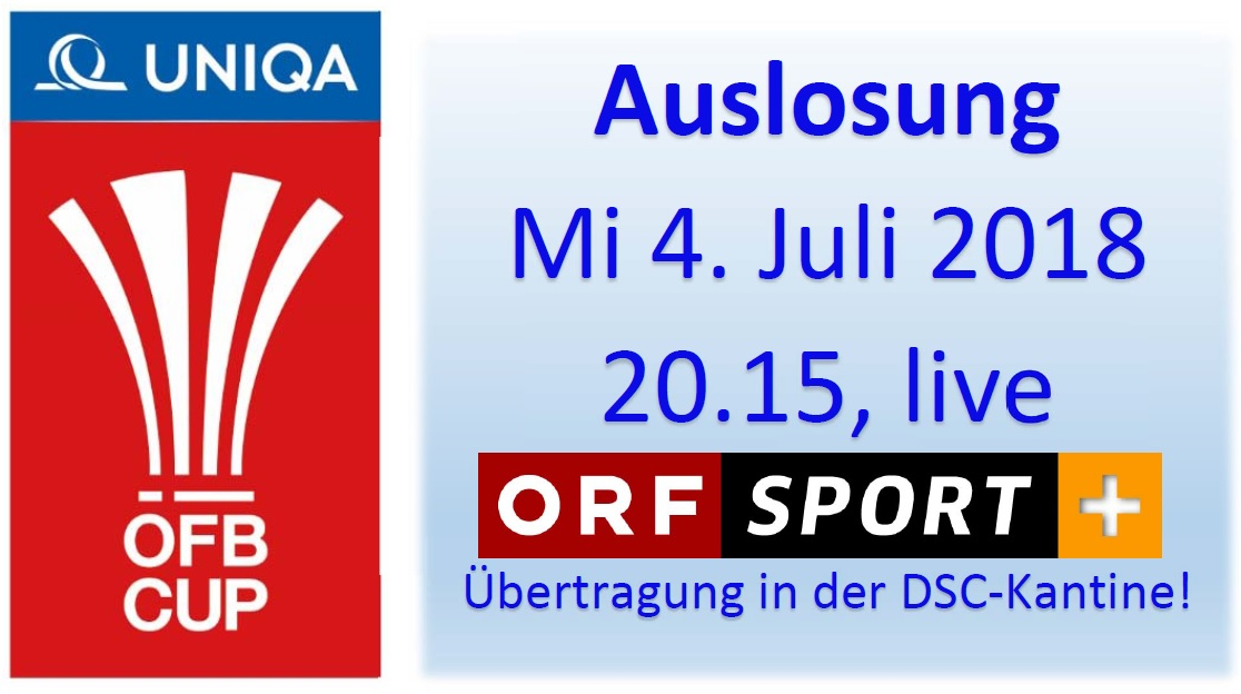 OEFB Cup Auslosung